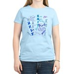 Knit Blue Light Women's Light T-Shirt