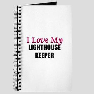 I Love My LIGHTHOUSE KEEPER Journal