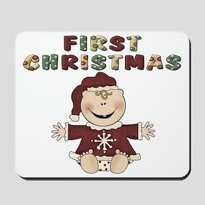 First Christmas Mousepad