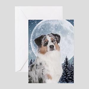Australian Shepherd Greeting Cards