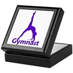 Gymnastics Keepsake Box - Gymnast