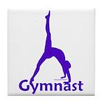 Gymnastics Tile Coaster - Gymnast