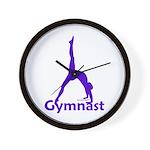 Gymnastics Clock - Gymnast