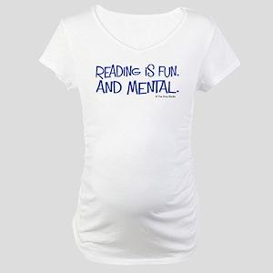 Reading Maternity T-Shirt
