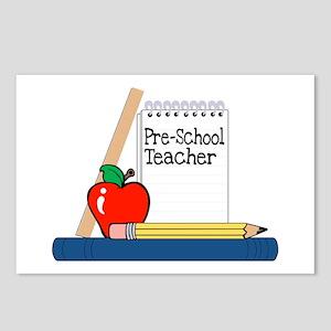 Pre-School Teacher (Notebook) Postcards (Package o