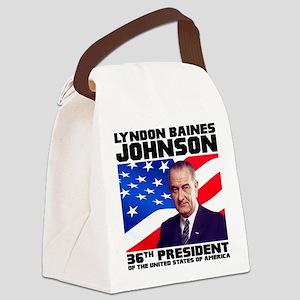36 Johnson Canvas Lunch Bag
