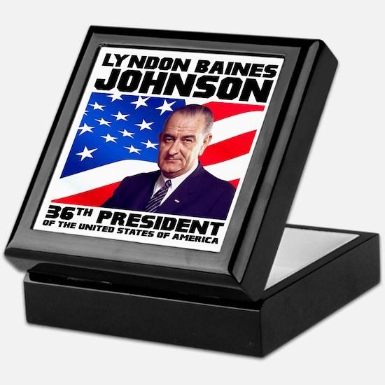 36 Johnson Keepsake Box