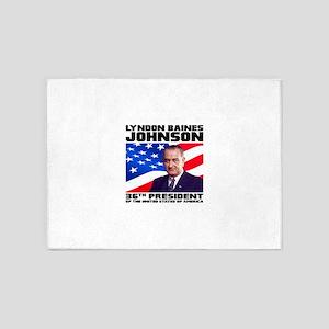 36 Johnson 5'x7'Area Rug