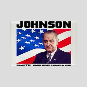 36 Johnson Rectangle Magnet