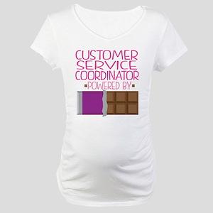 Customer Service Coordinator Maternity T-Shirt