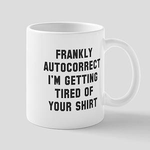 autocorrect tired Mug