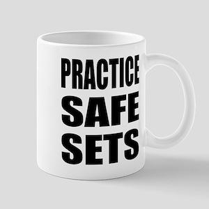 Practice safe sets Mug
