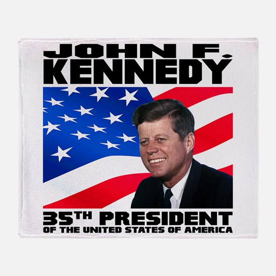 35 Kennedy Throw Blanket