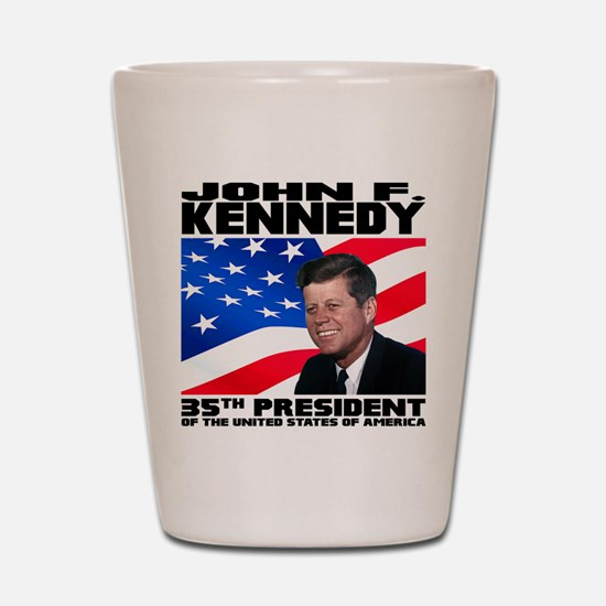 35 Kennedy Shot Glass