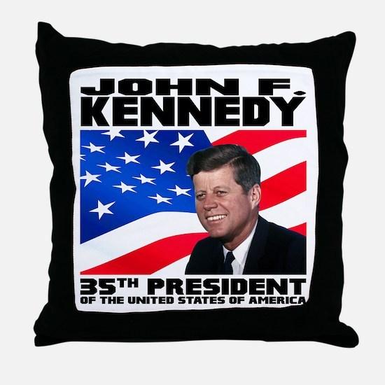35 Kennedy Throw Pillow