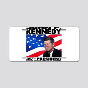 35 Kennedy Aluminum License Plate