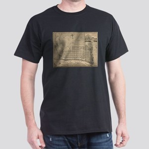 Vintage Map of Savannah Georgia (1818) T-Shirt