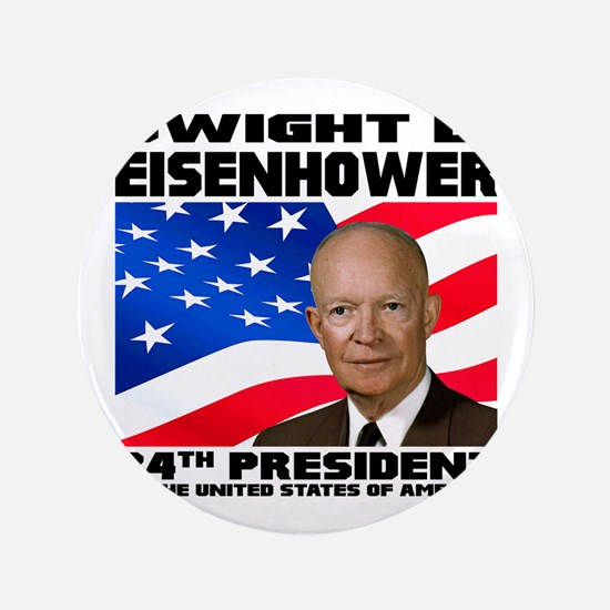 34 Eisenhower Button