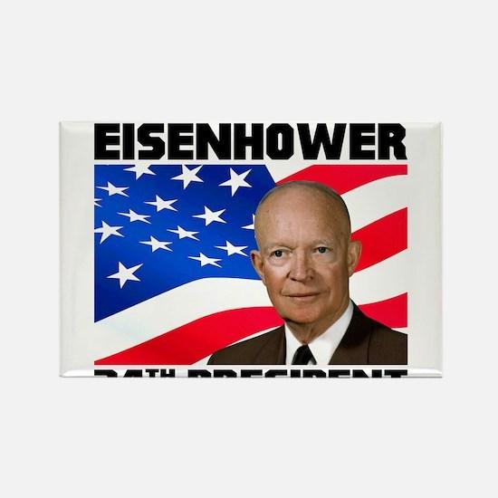 34 Eisenhower Rectangle Magnet