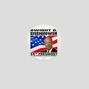 34 Eisenhower Mini Button