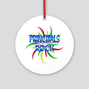 Principals Rock Ornament (Round)