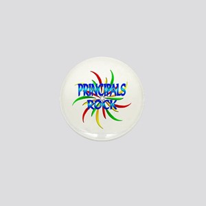 Principals Rock Mini Button