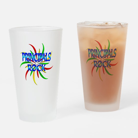 Principals Rock Drinking Glass