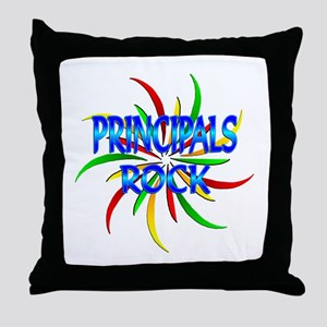 Principals Rock Throw Pillow