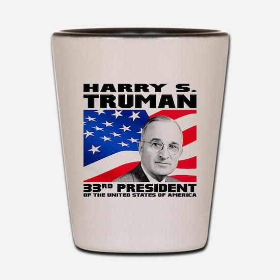 33 Truman Shot Glass