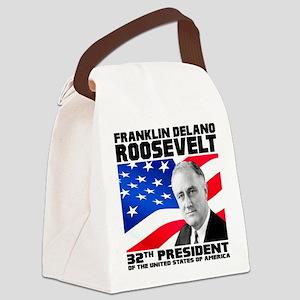 32 Roosevelt Canvas Lunch Bag