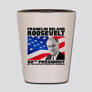 32 Roosevelt Shot Glass