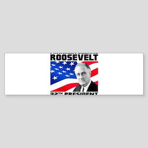 32 Roosevelt Sticker (Bumper)