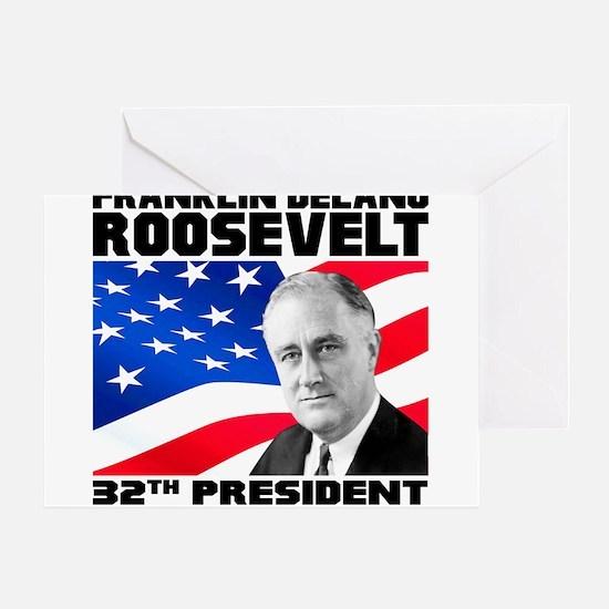 32 Roosevelt Greeting Card