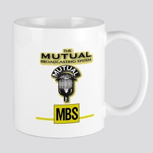 THE MUTUAL BROADCASTING SYSTEM. OLD TIME RAD Mugs