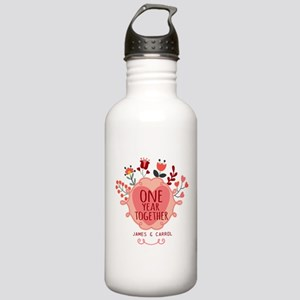 Personalized Retro Flo Stainless Water Bottle 1.0L