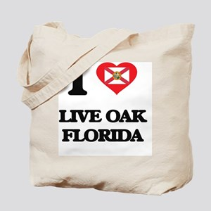 I love Live Oak Florida Tote Bag
