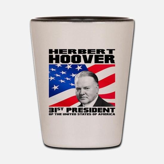31 Hoover Shot Glass