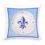 Fleur-de-lisPlateTile.png Everyday Pillow