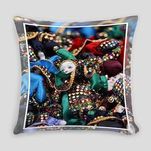 MardiGrasDolls Everyday Pillow