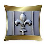Fleur-de-lis-gateTile.png Everyday Pillow