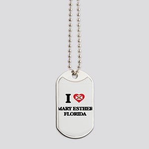I love Mary Esther Florida Dog Tags