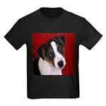 JRT Puppy Ink Sketch Kids Dark T-Shirt