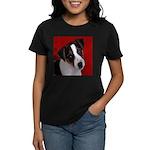 JRT Puppy Ink Sketch Women's Dark T-Shirt