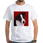 JRT Puppy Ink Sketch White T-Shirt