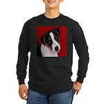 JRT Puppy Ink Sketch Long Sleeve Dark T-Shirt