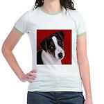 JRT Puppy Ink Sketch Jr. Ringer T-Shirt