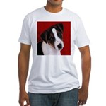 JRT Puppy Ink Sketch Fitted T-Shirt