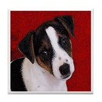 JRT Puppy Ink Sketch Tile Coaster