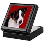JRT Puppy Ink Sketch Keepsake Box