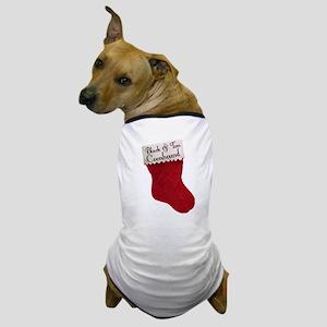 B&T Stocking Dog T-Shirt